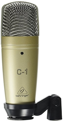Price comparison product image Behringer C-1 Professional Large-Diaphragm Studio Condenser Microphone