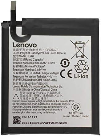 Batería Pila Original Lenovo VIBE K6 bl267 Bl 267 OEM interna Bulk cartero Repuesto Interno Akku Genuine: Amazon.es: Electrónica