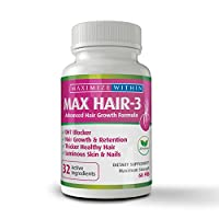 Maximize Within Max Hair-3 Advanced Hair Growth Formula,for Longer, Stronger, Healthier...