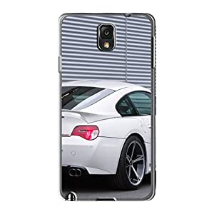 Galaxy Note3 Cases Covers Skin : Premium High Quality White Ac Schnitzer Bmw M Coupe Rear Angle Cases Black Friday
