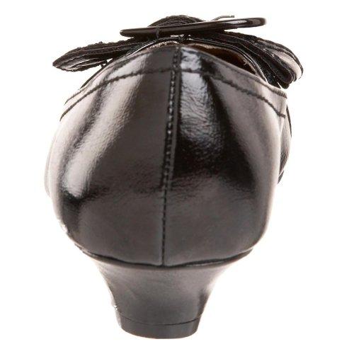 Brande Brande Womens Black Heeled Madeline Pump Low Madeline Low Womens Pump Heeled Iwaxqp4p0