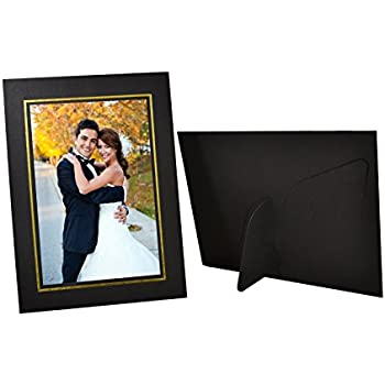 Amazon.com - Golden State Art, Pack of 25, Ivory Cardboard Photo ...