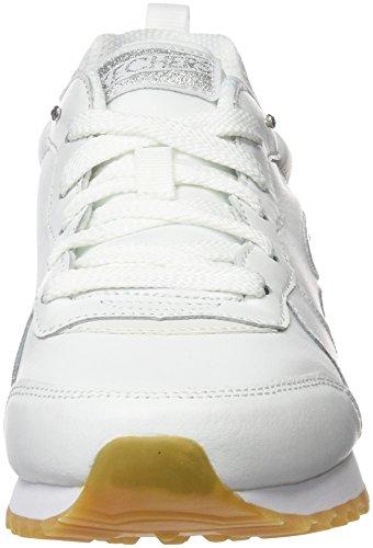 Skechers Originals Og 85 Street Sneak Low, Zapatillas de Deporte para Mujer Blanco (Wht)