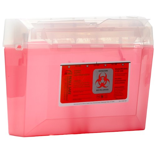 Bemis Biohazard Sharps Container 3 Quart by Bemis Health Care (Image #2)
