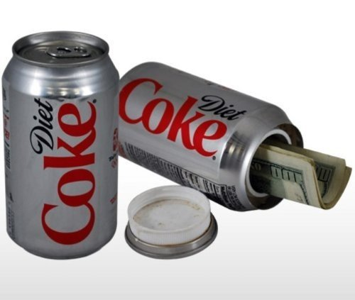 Diet Coca-Cola can Diversion Safe Stash box nascosta OEM