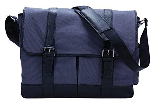 Superdeals Store G6126 High End Elegant Tablet/Laptop Messenger Flap Over Bag Bellino Flap Over Briefcase