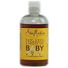 Shea Moisture Baby Head-To-Toe Wash and Shampoo Raw Shea Chamomile and Argan Oil - 12 fl oz Toys Baby Kids Games