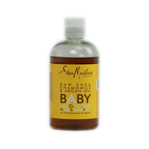 Shea Moisture Raw beurre de karité Baby-tête aux pieds Wash & Shampoo - 13 oz
