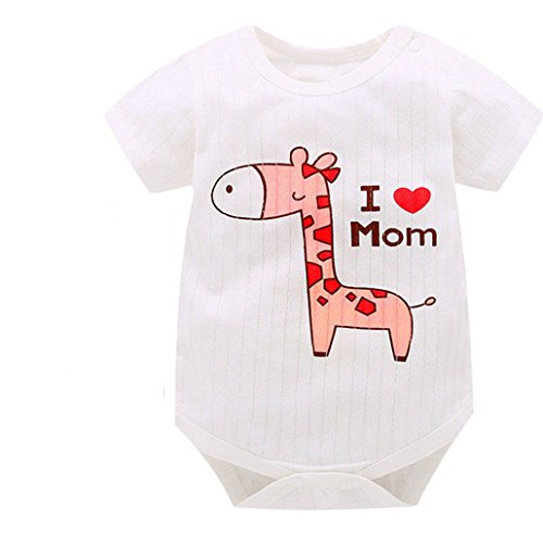 Animal Style Short Sleeve Infant Rompers Jumpsuit Cotton Baby Rompers Newborn Clothes Kids Clothing