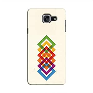 Cover It Up Square Colours Hard Case For Samsung Galaxy J7 Prime