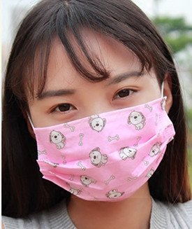 cute disposable face mask