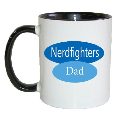 Fat Doxie -- Nerdfighers Dad -- 11 oz Mug
