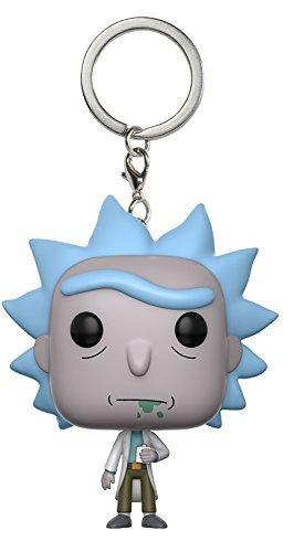 Funko-12916 Pocket Keychain: Rick & Morty: Rick (12916