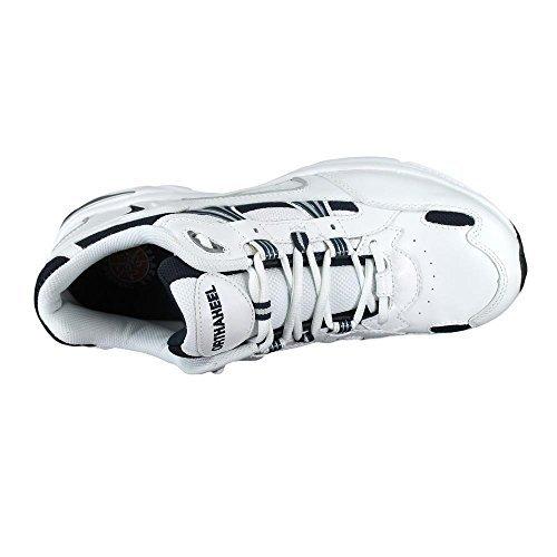Vionic Men's Men's Walker Shoe White Navy 9 / W & Travel Sunscreen Spray Bundle by Vionic, USA (Image #2)