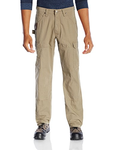 Wrangler Men's Riggs Big and Tall Cleaning Pant-front-sand