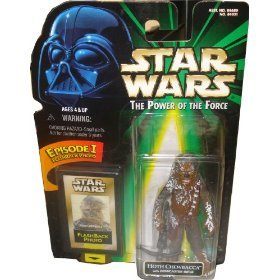 - Star Wars: Power of The Force Flashback Hoth Chewbacca Action Figure
