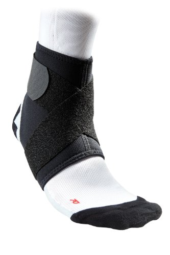McDavid 432 Ankle Support With Strap (Black, Large)