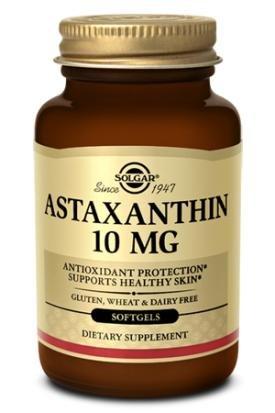 Solgar - Astaxanthine 10mg - 30 gélules-Antioxydant Puissant