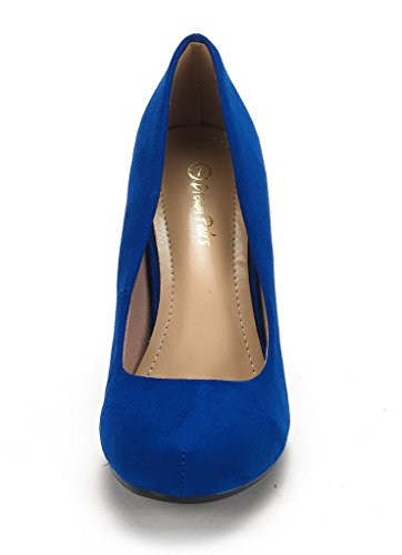ROYAL BLUE Dance Women's Low New DREAM Formal BERRY Heel Evening Classic PAIRS Shoes ARPEL Rhinestones Pumps ARPEL 1wxHqaZ