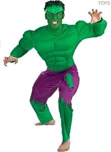 Disfraz Traje Vestimenta de Hulk de Lujo 111cm Pecho