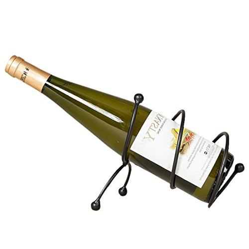 (LUMGER Wine Rack Metal Spiral Iron Restaurant Bar Housewares12×19×15cm)
