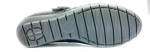 Velcro Size Con 5 8 25 Queen 7 Estraibile Cm 9 Donna 14700 40 Black Plantare Usa 5 Ballerine Mobils Eu Jessy Ita Mephisto By X7AqYA