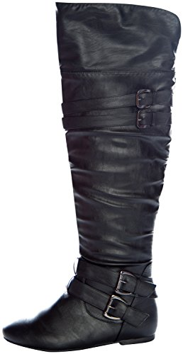 West Blvd Womens KINSHASA THIGH HIGH Boots Over The Knee ...