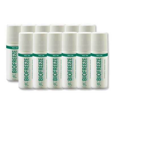 Biofreeze Pain Relief Roll On, 12 Count by Biofreeze