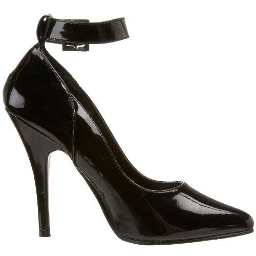 Pleaser - SEDUCE-431, Scarpe col tacco classiche donna, Nero (Blk Pat), 35