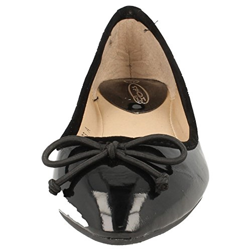 Toe Flat Flat Pointed Ballerina Black Pointed wtS0qSz6