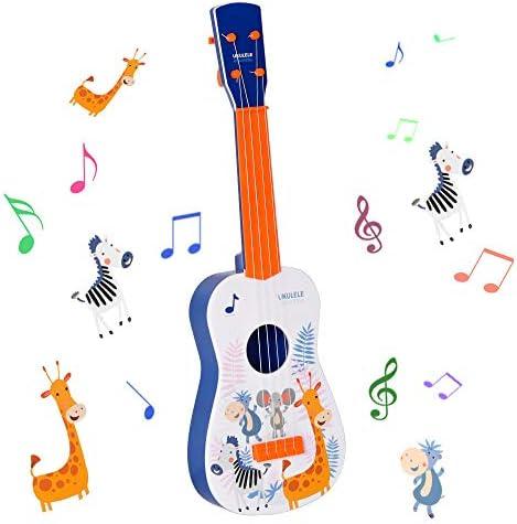Shayson Ukelele Guitarra para Niños, Ukulele Hawaiano de Juguete y ...