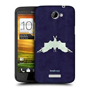 Head Case Designs Change of Phase Inkblot Test Protective Snap-on Hard Back Case Cover for HTC One X by icecream design