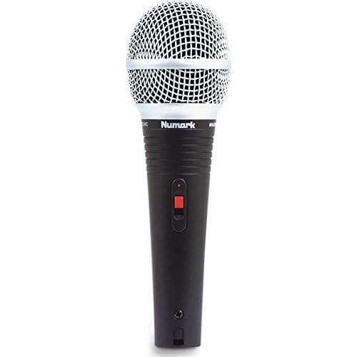 Numark WM200 Microphone Dynamique avec Clip de Fixation et Etui de Transport Solide avec Doublure en Mousse