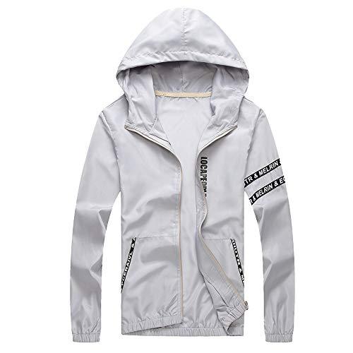 YKARITIANNA Mens Casual Jacket Outdoor Sportswear Windbreaker Lightweight Bomber Jackets Tops