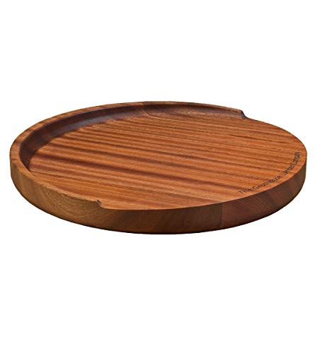 (The Trencher Sapele Mahogany Round Wood Reversible Cutting)