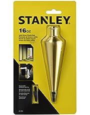 STANLEY 47-974 Brass Plumb Bob, 16-Ounce