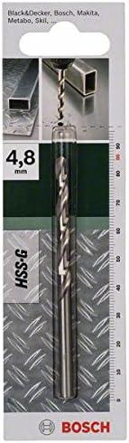 1 Bosch DIY 2609255044 Metal Drill Bit HSS-G 4.8 x 52 x 86 mm