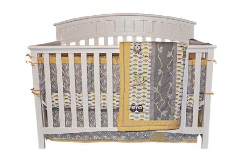 Amazon com   DK Leigh Owl 7 Piece Gender Neutral Crib Bedding Set   Yellow Green   Owl Baby Crib Bedding Sets   BabyAmazon com   DK Leigh Owl 7 Piece Gender Neutral Crib Bedding Set  . Neutral Baby Bedding Sets Canada. Home Design Ideas