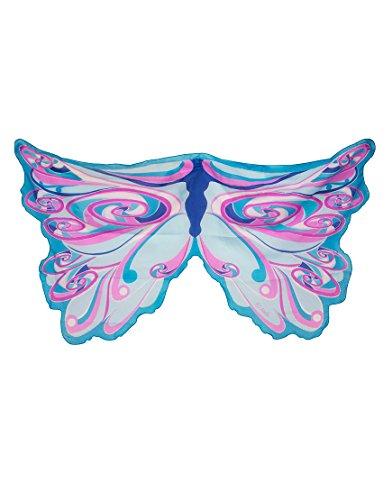 [Wings Fairy Rainbow Blue] (Dress Up Fairy Wings)