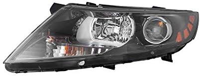 Value Headlight For 2011-2013 Kia Optima Left Clear Lens Halogen Korea Built OE Quality Replacement