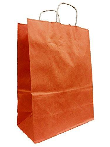 Amazon.com: Colorido más grandes bolsas de papel Kraft, 10 ...
