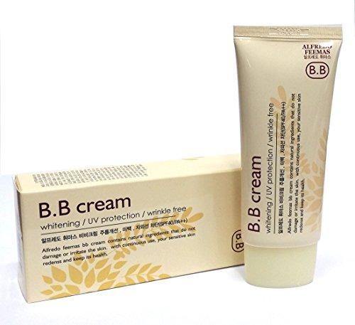 呪われた側ケイ素アルフレッドフェイマスBBクリーム50ml X 3ea / Alfredo feemas BB cream 50ml X 3ea / ホワイトニング、しわ、UVプロテクション(SPF40 PA ++)/ Whitening,Wrinkle free,UV protection (SPF40 PA++) / 韓国化粧品 / Korean Cosmetics [並行輸入品]