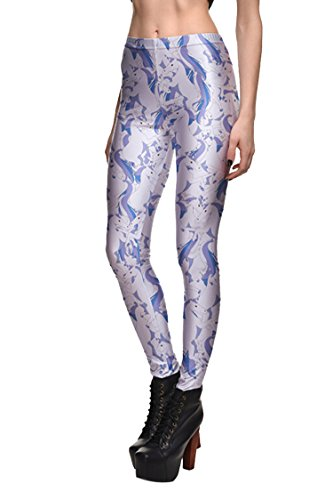 COCOLEGGINGS Digital Elastic Christmas Leggings