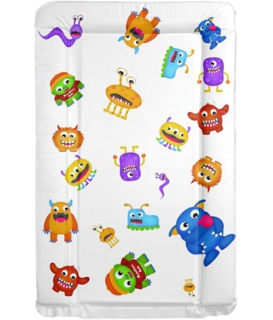 Brand New Soft Padded Deluxe Large Waterproof Change Mats Cheeky Monkeys Baby Changing Mat