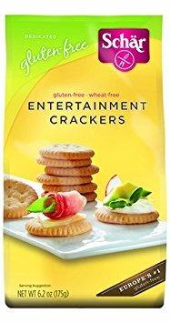 SCHAR CRACKER GF ENTERTAINMENT, 6.2 OZ [3 (Entertainment Crackers)
