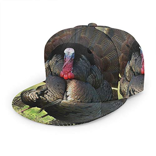 2019 Turkey Bird Baseball Cap 3D Print Snapback Unisex Adjustable Hip Hop Dad Hat Casual Team Black