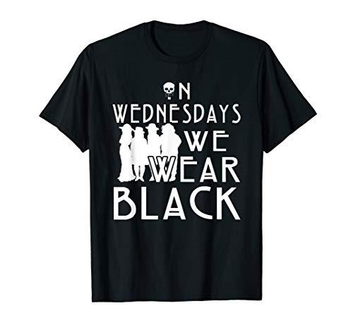 ON WEDNESDAYS WE WEAR BLACK Tshirt (On Wednesdays We Wear Black T Shirt)