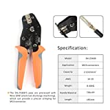 IWISS MC4 Solar PV Cable Crimping Tool Kit for