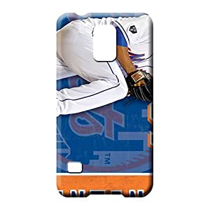 samsung galaxy s5 Shock-dirt Snap-on For phone Protector Cases phone case skin new york mets mlb baseball