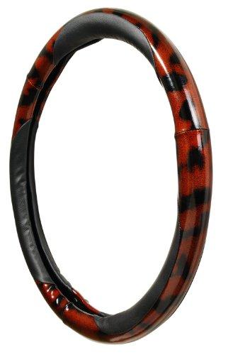 Allison 54-6104 Black Burlwood Steering Wheel Cover